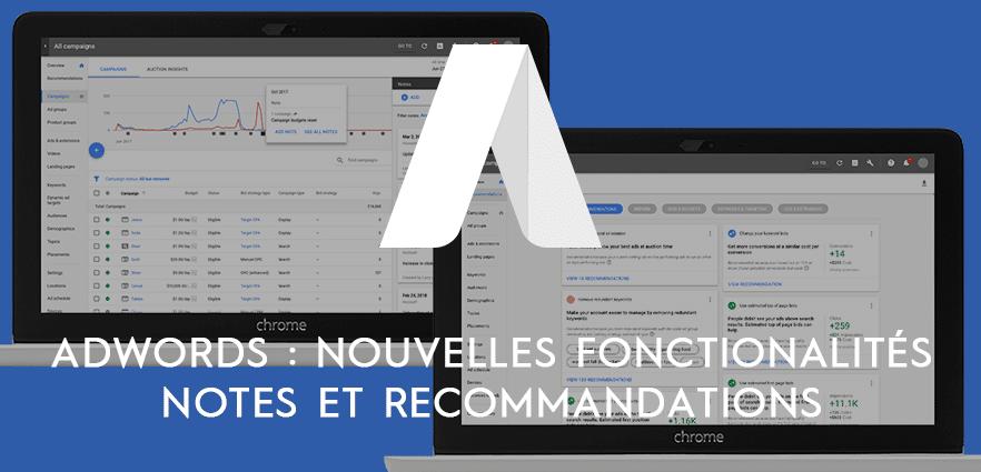 adwords-nouvelles-fonctionnalités-notes-recommandations