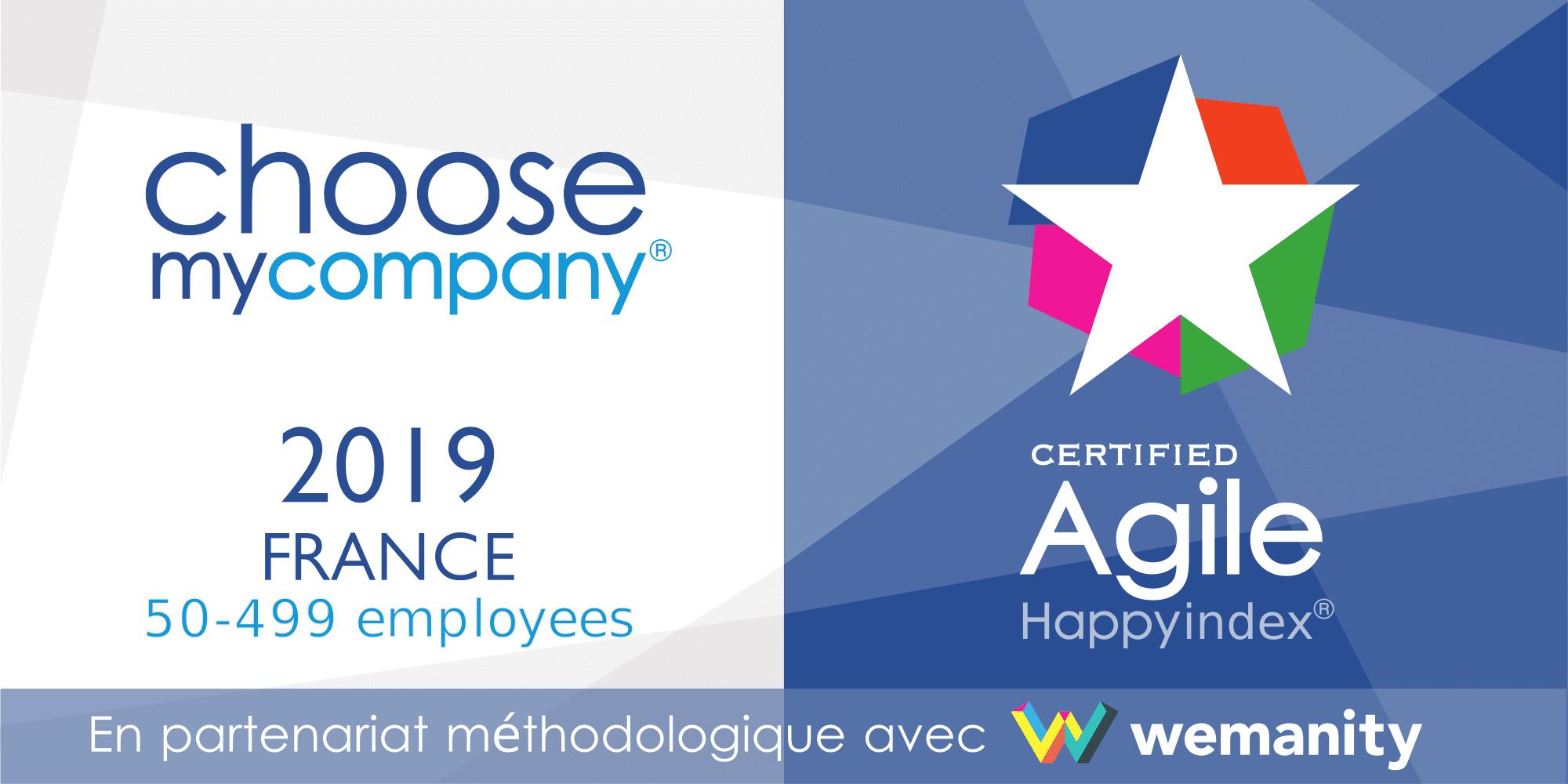 Agence certifiée HappyIndex®/AtWork AGILE