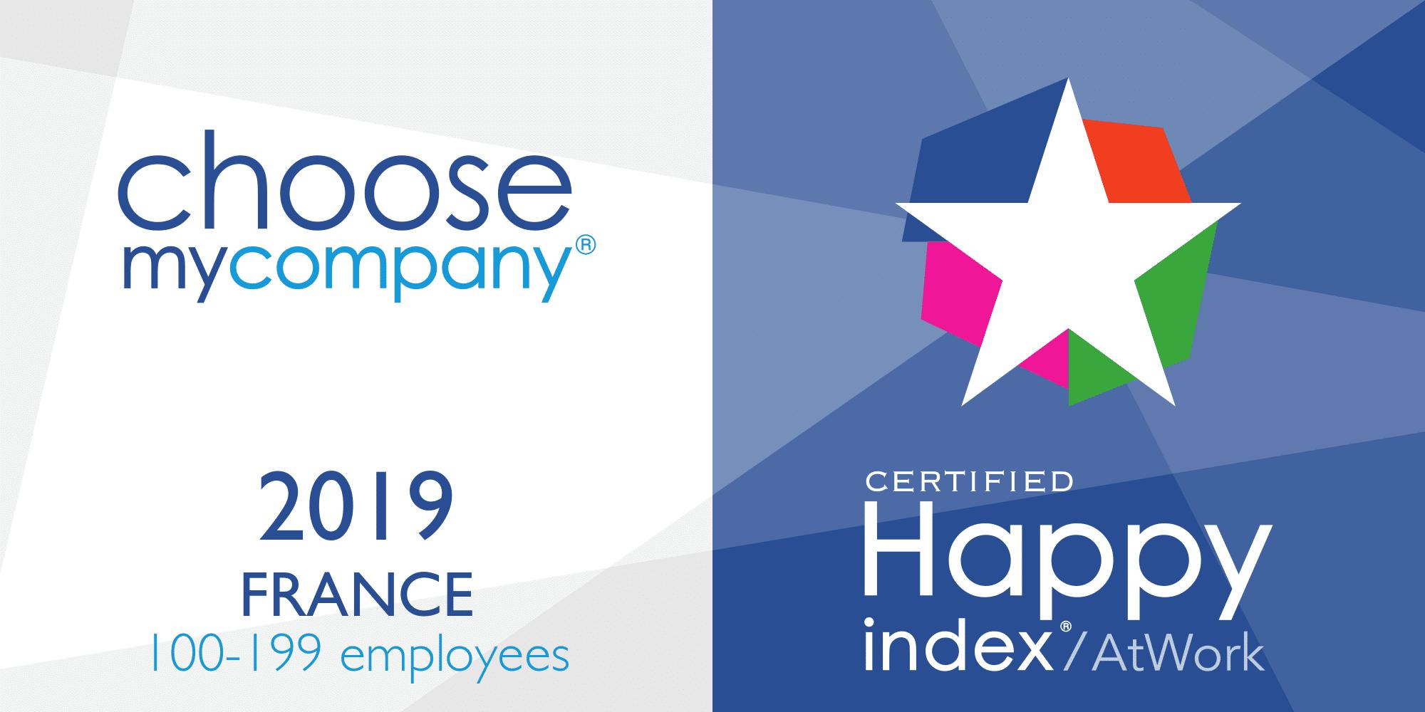 Agence certifiée HappyIndex®/AtWork 2019