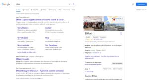 Placement d'une fiche Google My Business sur Google